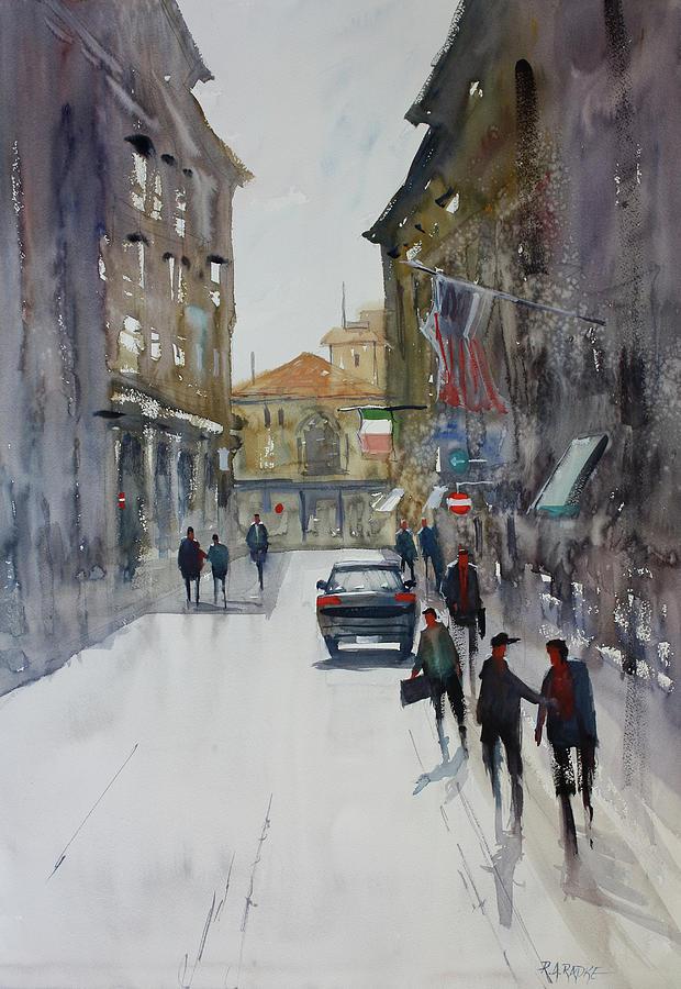 Ryan Radke Painting - Italian Impressions 1 by Ryan Radke