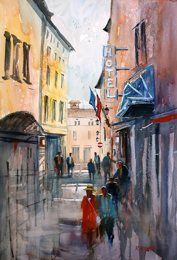 Ryan Radke Painting - Italian Impressions 3 by Ryan Radke