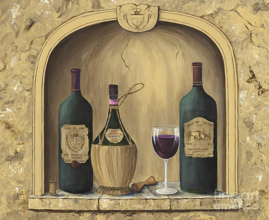 Europe Painting - Italian Reds by Marilyn Dunlap