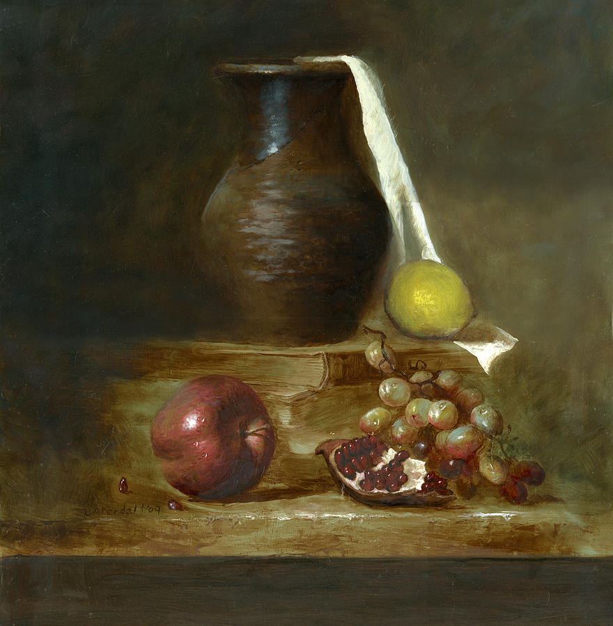 Italian Still Life Painting by Cecilia Brendel