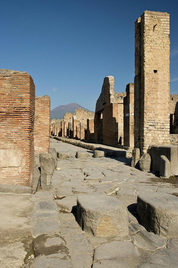 Archeology Photograph - Italy, Campania, Pompeii by Jaynes Gallery