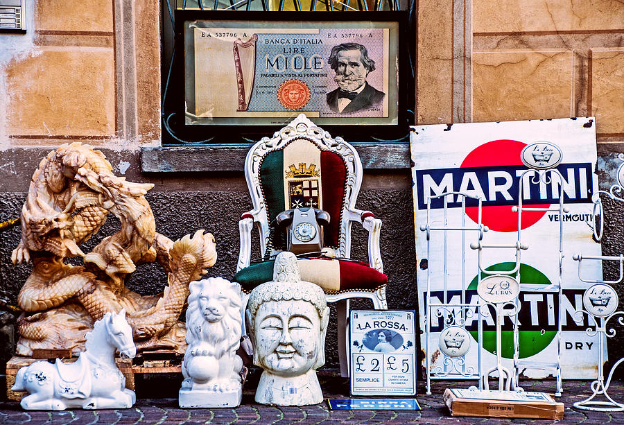 Clocks Photograph - Italy Memorabilia by Luca Lorenzelli