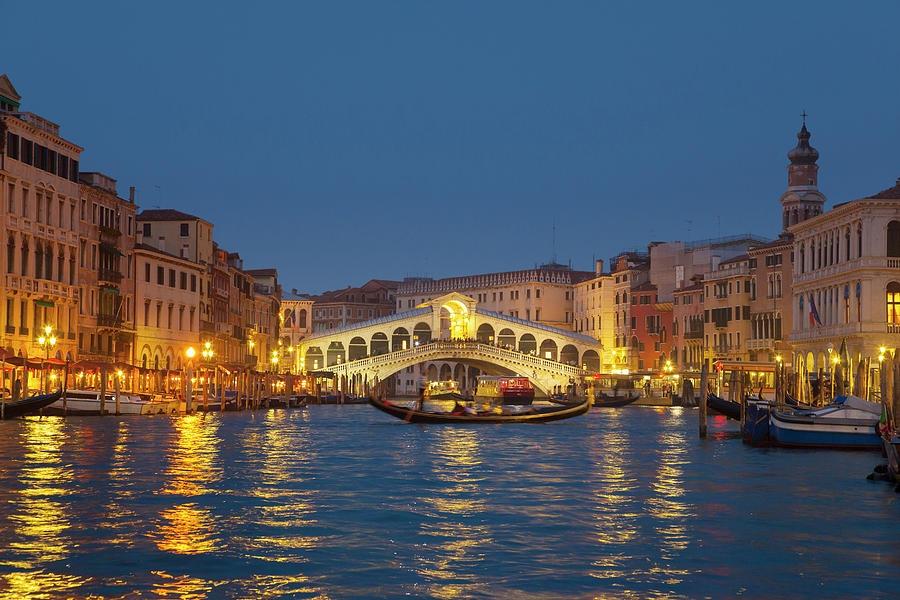 Italy, Venice, View Of Grand Canal And Photograph by Westend61