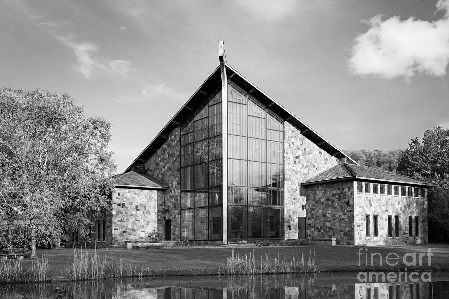 Ithaca Photograph - Ithaca College Muller Chapel by University Icons