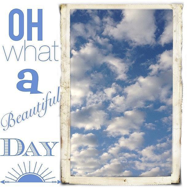 Beautiful Photograph - Its A #beautiful #morning And A Great by Teresa Mucha