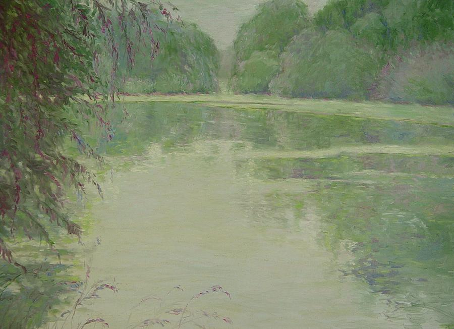 Water Painting - Its A Lazy Afternoon by J Michael Orr