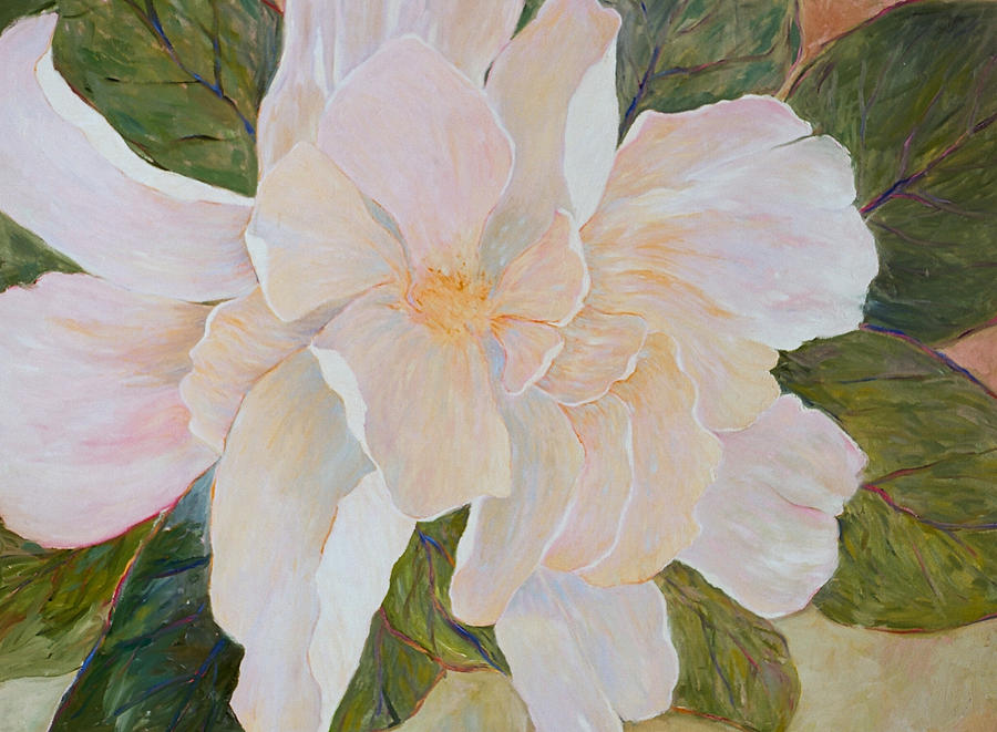 Flower Painting - Its A New Glorious Morning by J Michael Orr