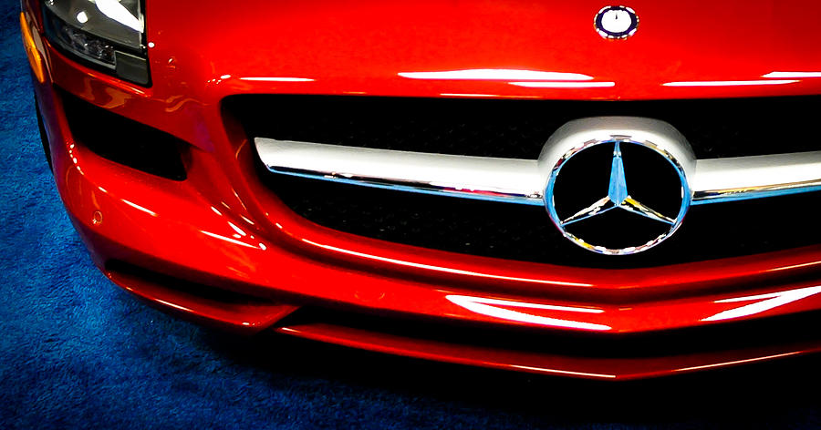 Car Photograph - Its All Red by Ronda Broatch