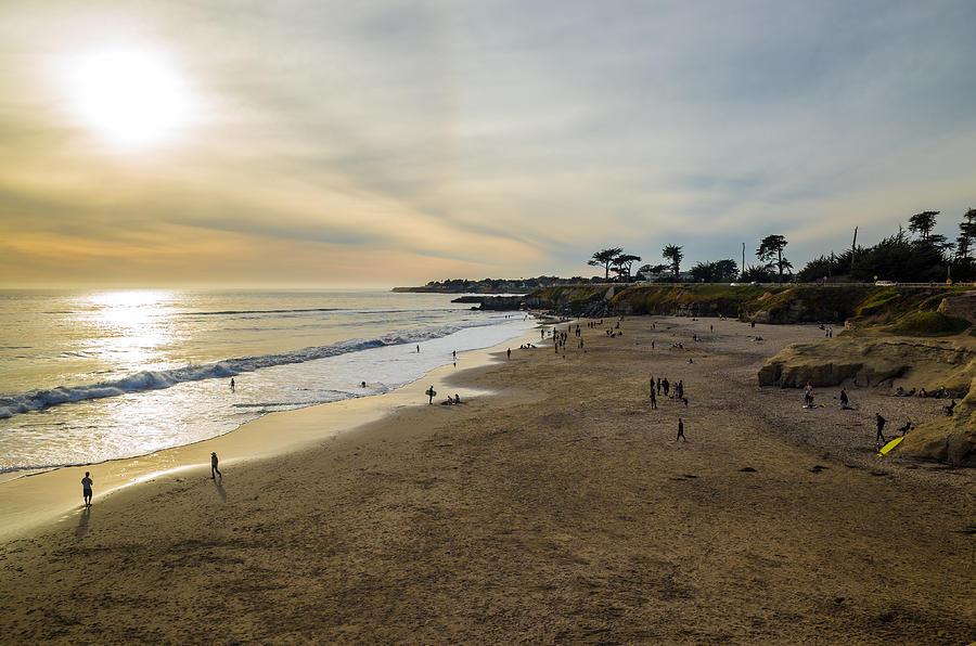 Its Beach Afternoon In Santa Cruz by Priya Ghose
