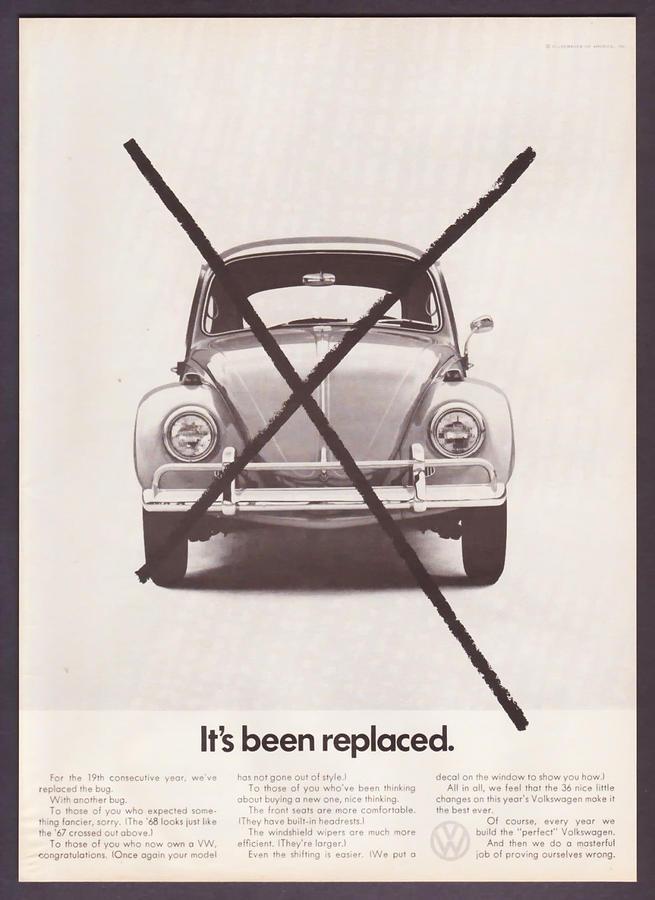Volkswagen Beetle Digital Art - Its Been Replaced by Georgia Fowler