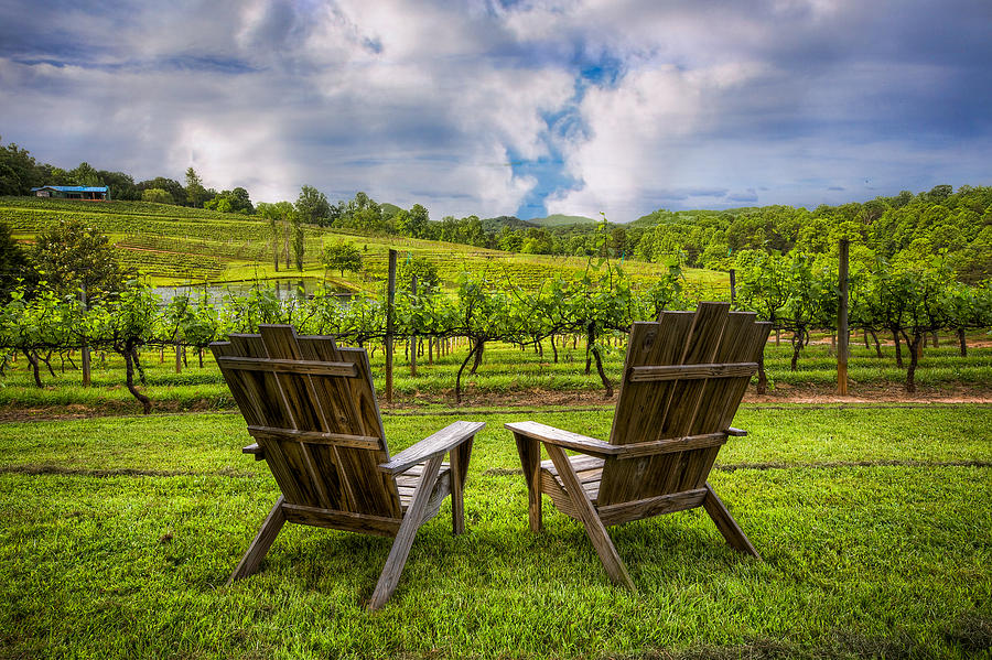 Appalachia Photograph - Its Happy Hour by Debra and Dave Vanderlaan