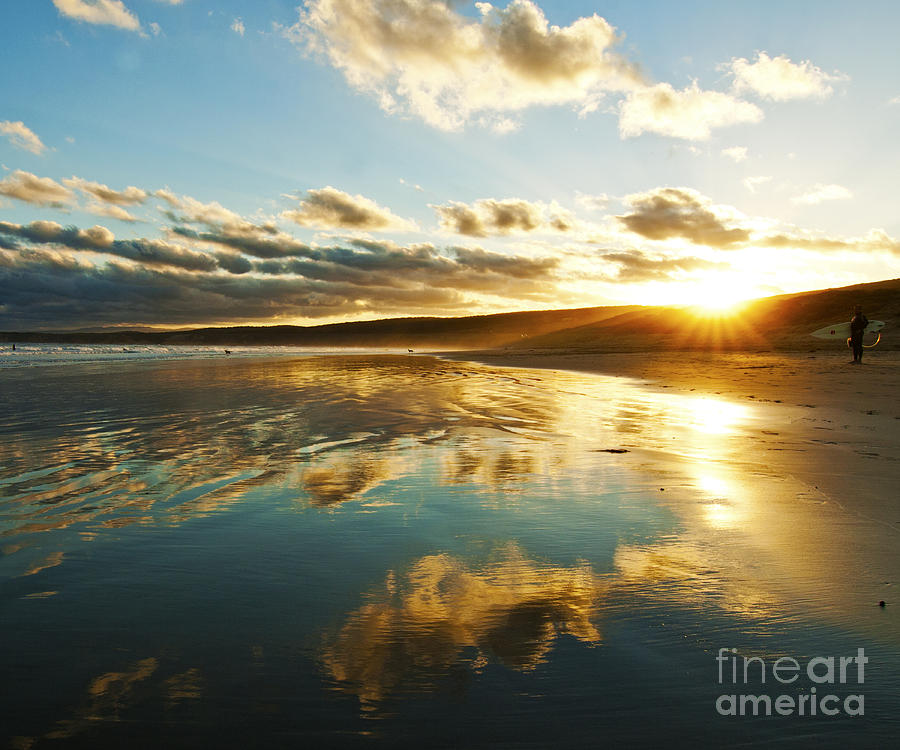 Sunset Photograph - Its Late In The Day by Nicole Doyle