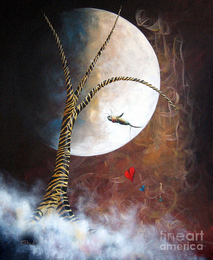 Surreal Painting - Its Ok To Be Different By Shawna Erback by Shawna Erback