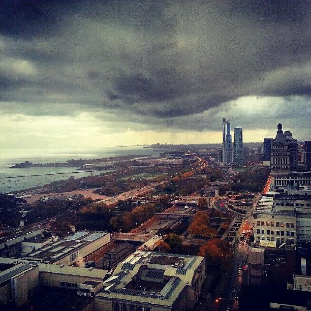 Storm Photograph - Its Raining Folks by Jill Tuinier