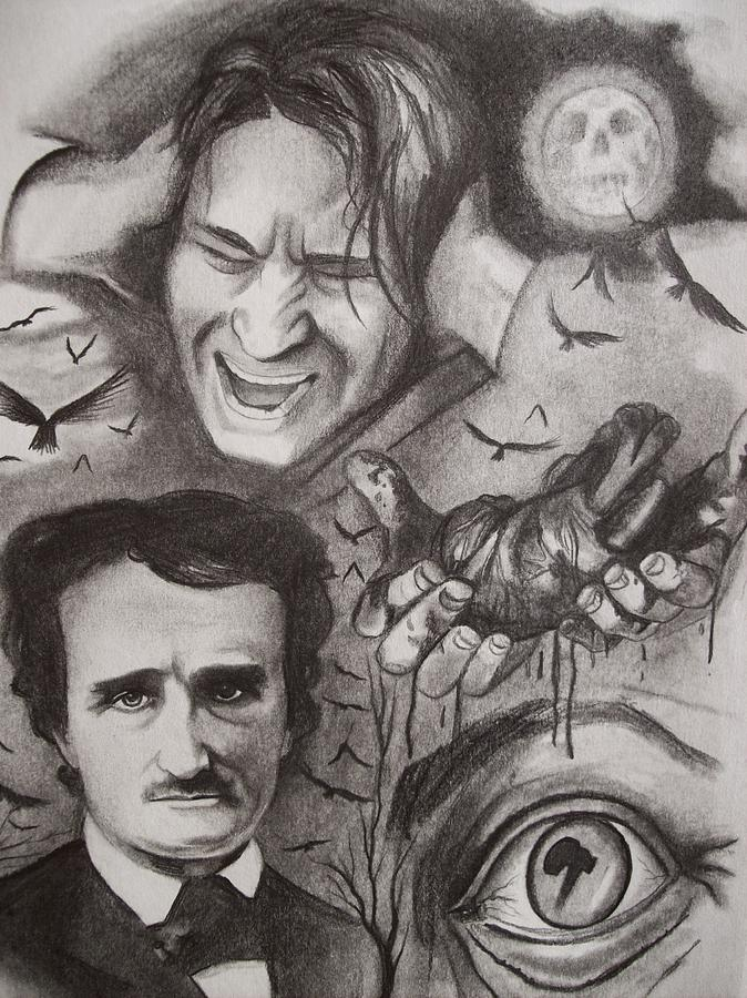 an obsession for an old mans eye in a tell tale heart by edgar allan poe Analysis of edgar allan poe - the tell-tale heart 1353 words | 6 pages analytical essay of edgar allan poe's the tell-tale heart this edgar allan poe's short story indicates the narrator as the prime character in this story, who describes himself as a sane man, as he expresses in the first sentence, yet he shows a horrifying thing as a.