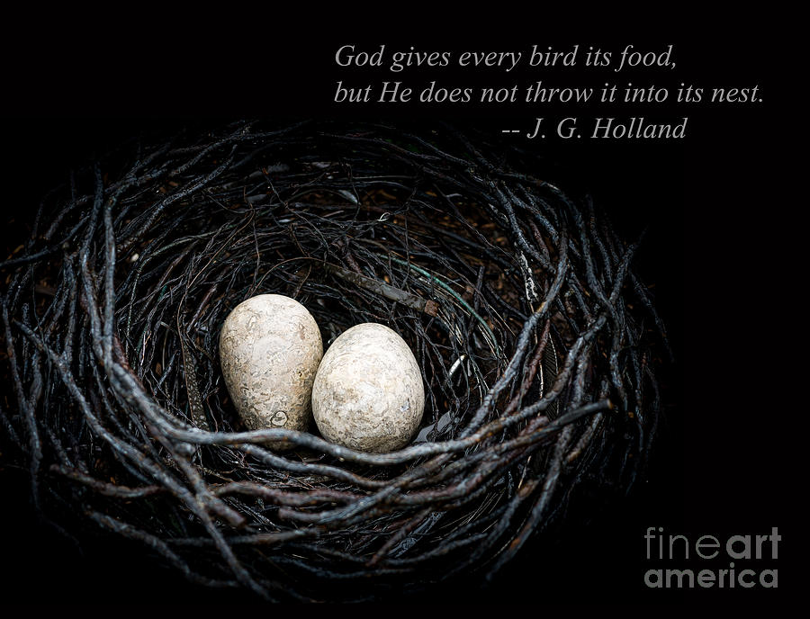 God Photograph - Its Up To You by Edward Fielding