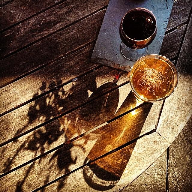 Cheers Photograph - Its Wine And Beer Oclock by Nic Squirrell