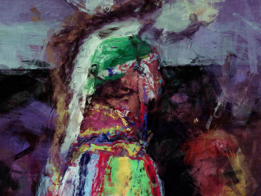 Indian Digital Art - Itse iyusdi Waya by Christy Leigh