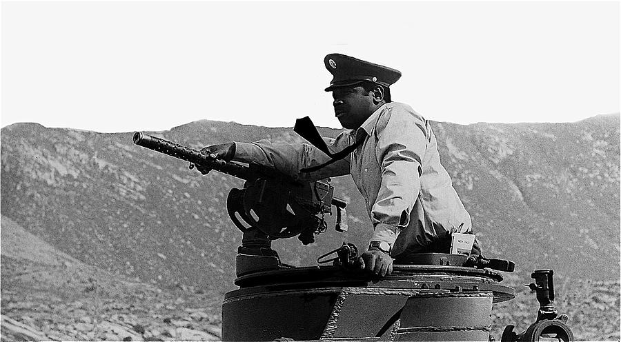 Ivan Dixon Suppose They Gave A War And Nobody Came Golder Dam Tucson Arizona 1969 Photograph