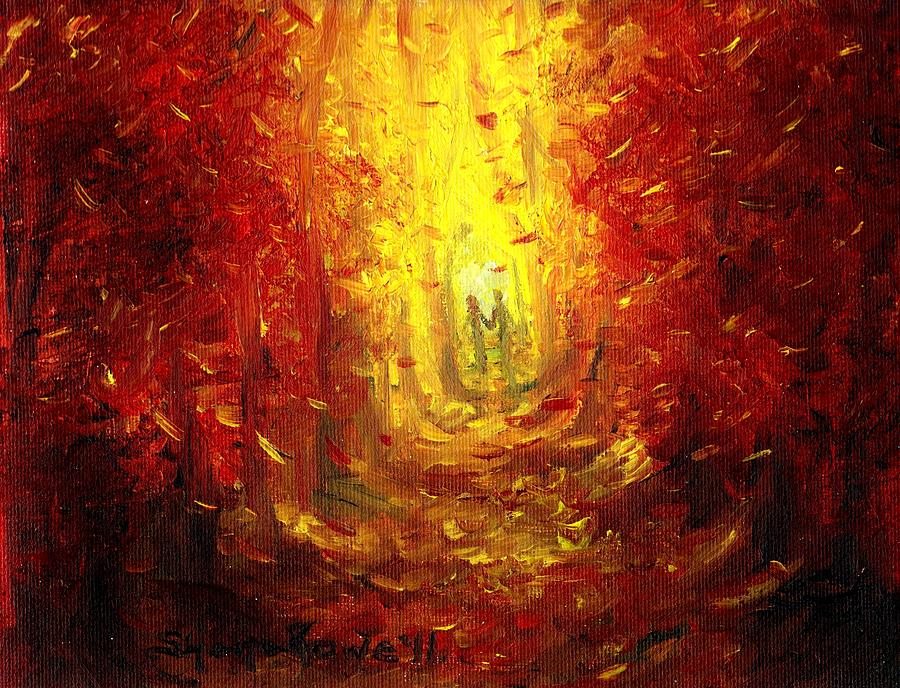 Fall Painting - Ive Fallen For You by Shana Rowe Jackson