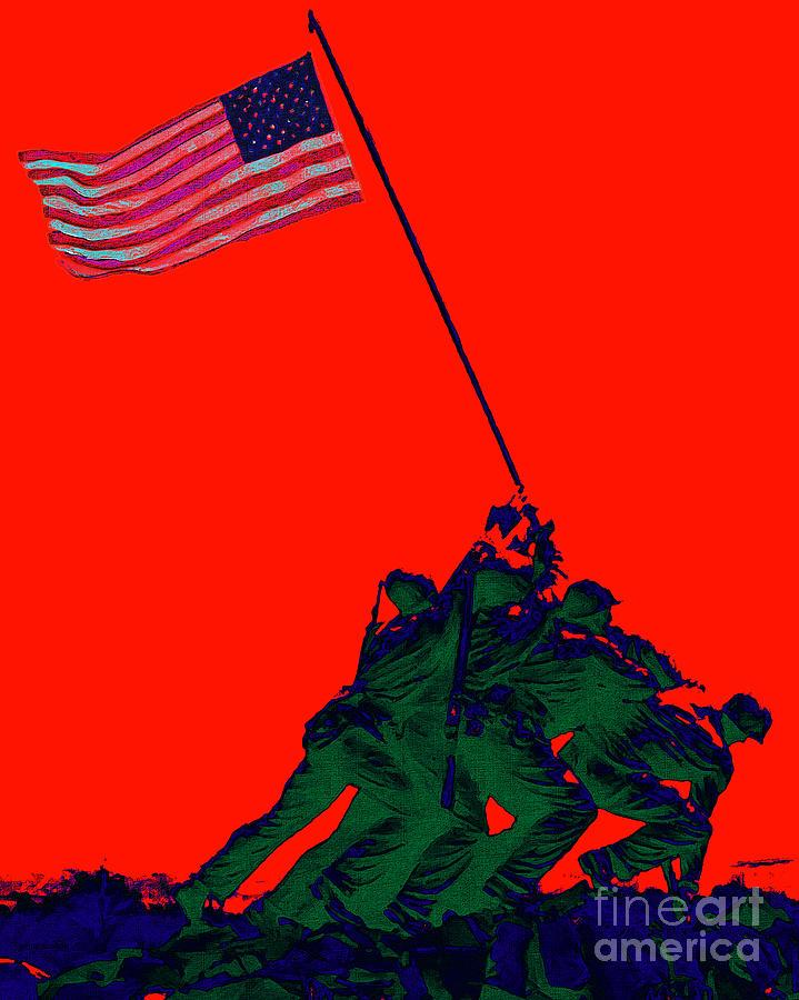 Iwo Jima Photograph - Iwo Jima 20130210p65 by Wingsdomain Art and Photography