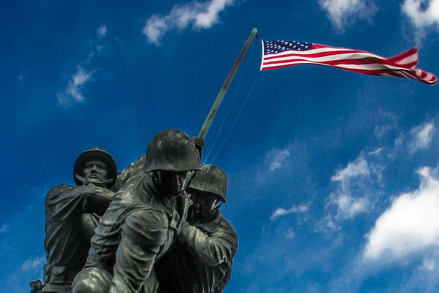 Iwo Jima Memorial Photograph