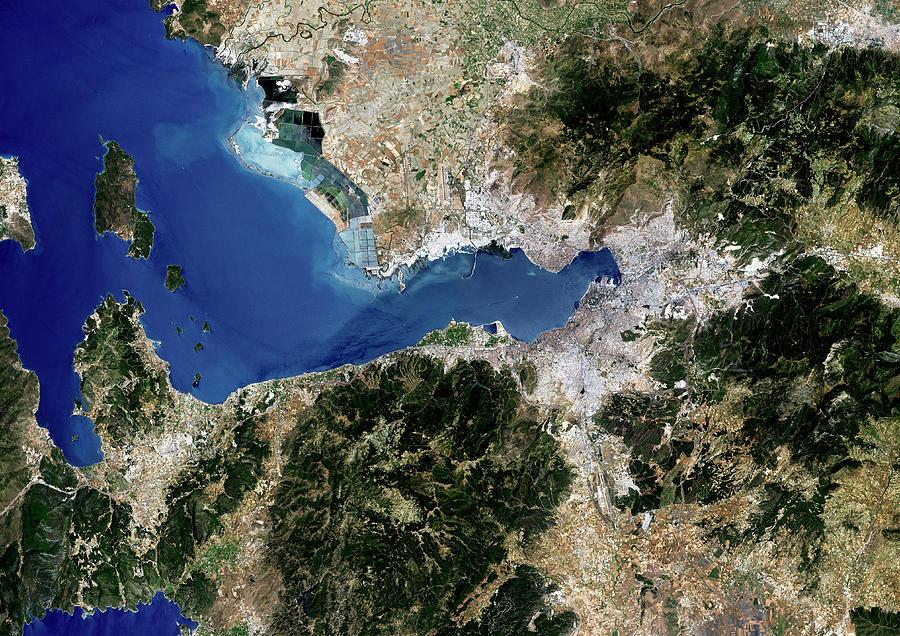 Izmir Photograph - Izmir by Planetobserver/science Photo Library