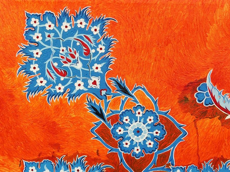 Iznik Art Turkish Ottoman Art by Karl Talip Kara