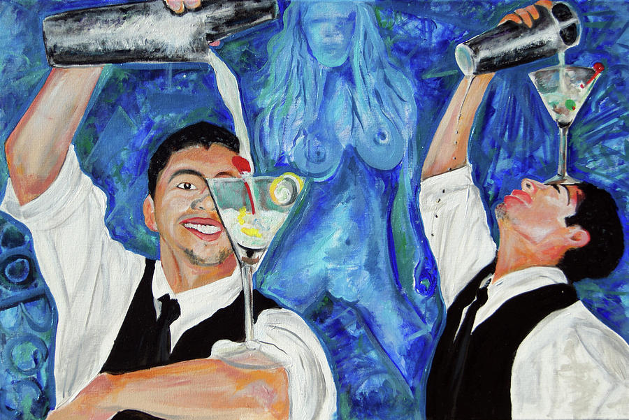 Ottoniel Lima Painting - Izzy by Ottoniel Lima