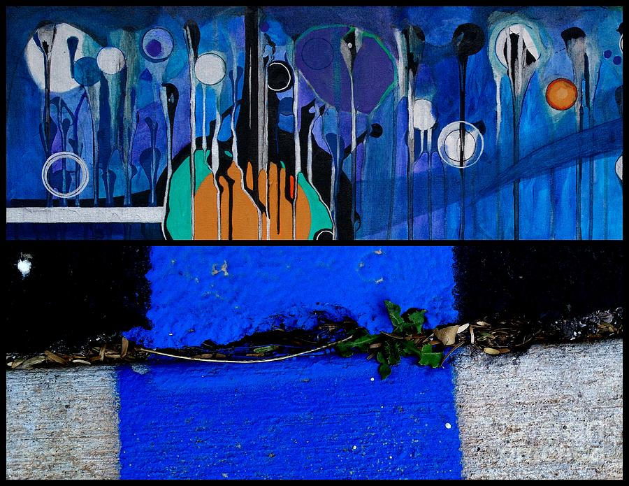 Blue Painting - j HOTography 166 by Marlene Burns