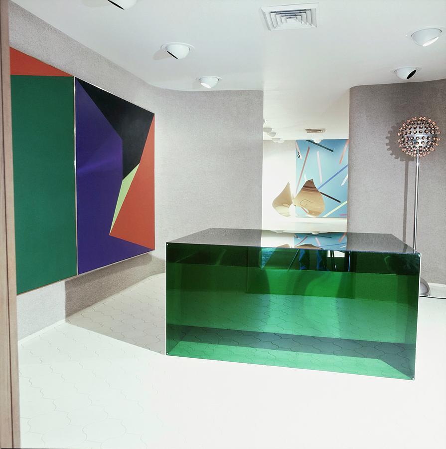 J. Patrick Lannans Art Gallery Photograph by Horst P. Horst