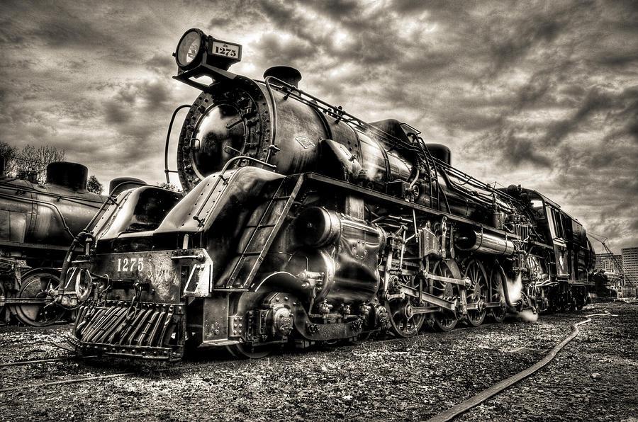 Steam Locomotive Photograph - Ja1275 Loco by Phil motography Clark