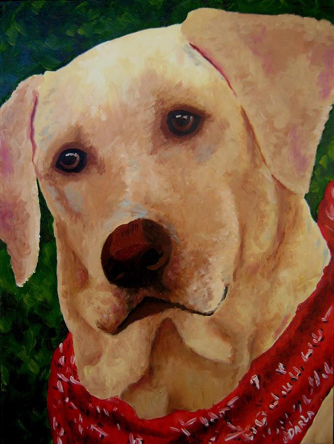 Lab Painting - Jack by Darla Brock