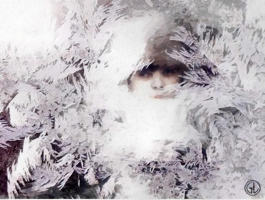 Winter Digital Art - Jack Frost Nipples Your Nose by Gun Legler