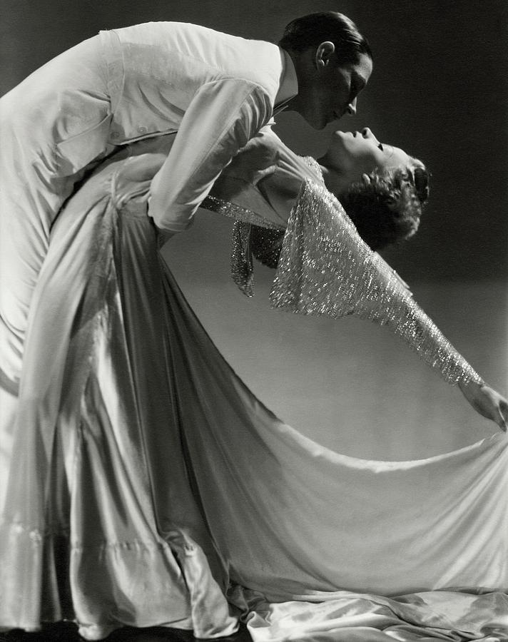 Jack Holland And June Hart Dancing Photograph by Horst P. Horst