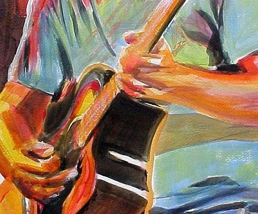 Johnson Painting - Jack Man Johnson by Therese Fowler-Bailey