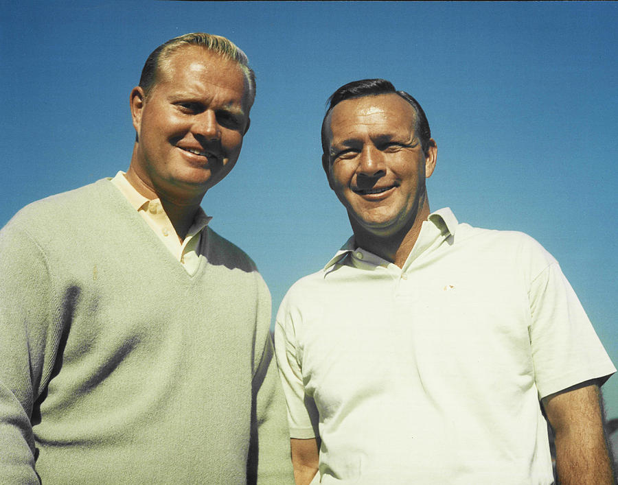 Jack Nicklaus and Arnold Palmer by Retro Images Archive