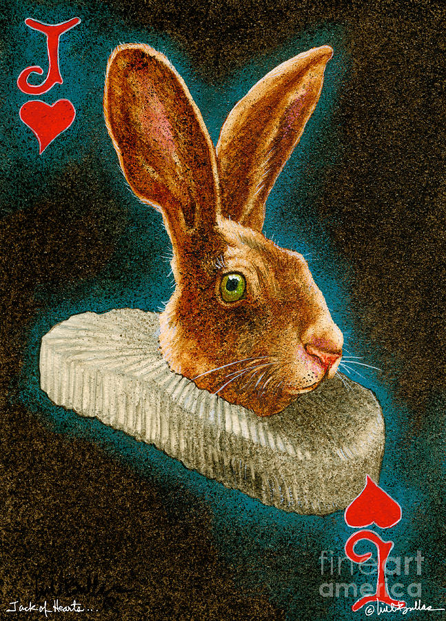 Will Bullis Painting - Jack Of Hearts... by Will Bullas