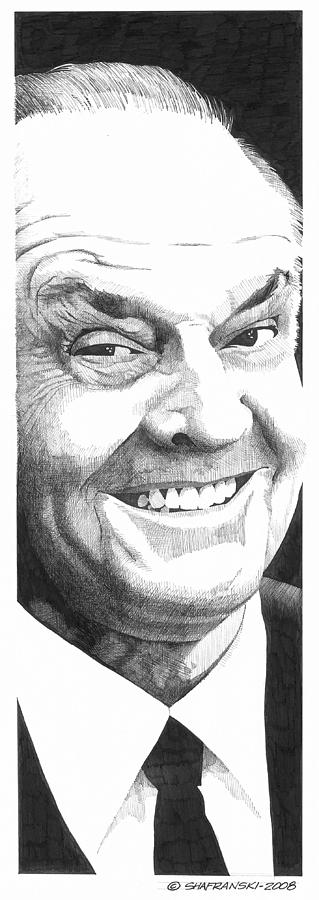 Pen And Ink Drawing - Jack by Paul Shafranski