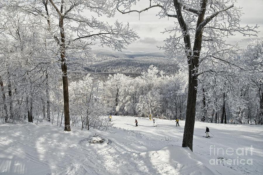 Ski Photograph - Jack Rabbit by Lois Bryan