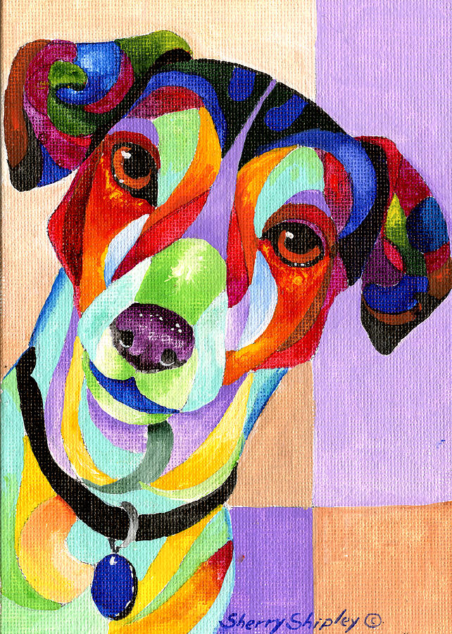 Jack Russell Terrier Painting By Sherry Shipley