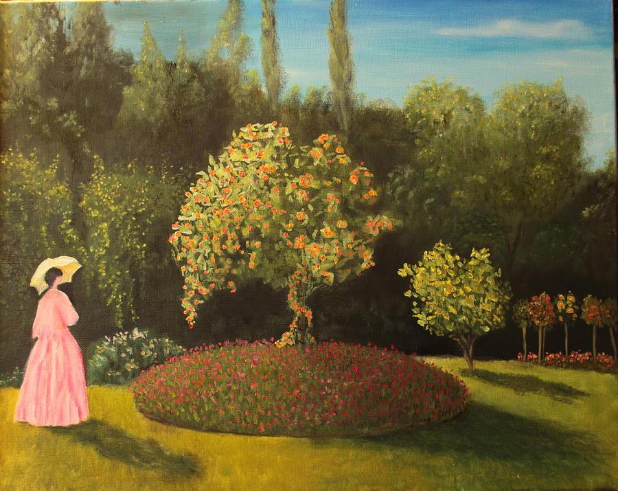 Jackie's Garden by DG Ewing