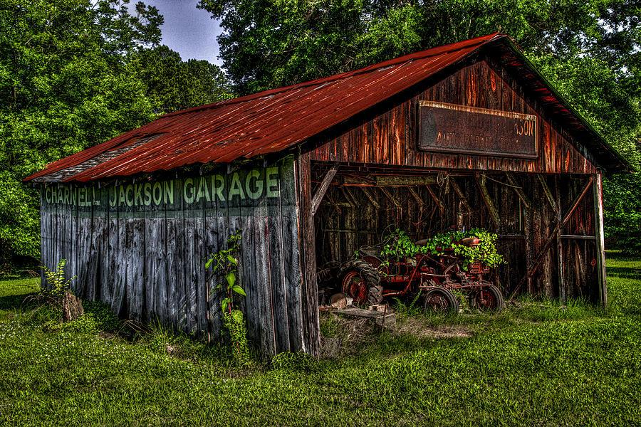 Garage Photograph - Jackson Garage by Russ Burch