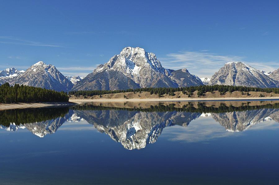 Lee Photograph - Jackson Lake Reflection by Lee Kirchhevel