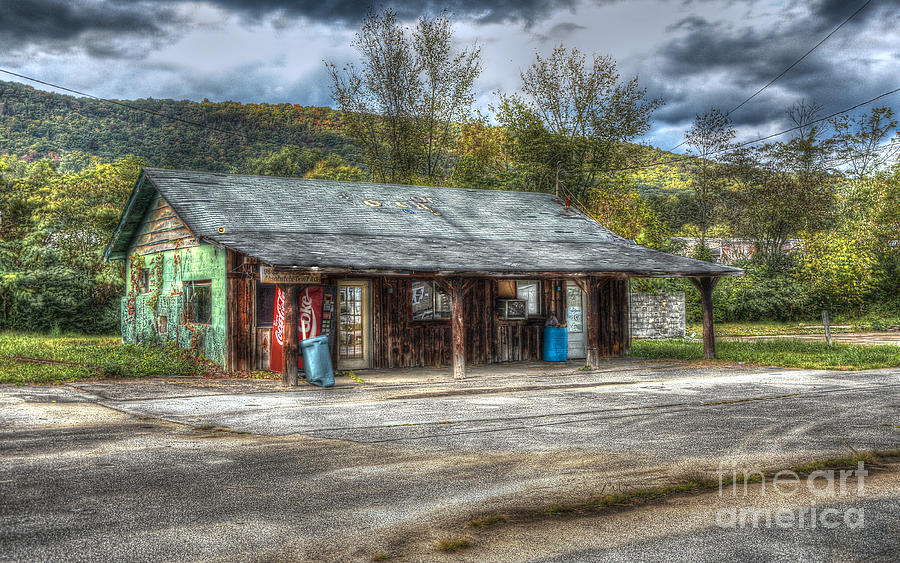Hdr Photograph - Jackson Motors by Paul Mashburn