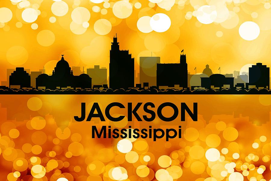 Jackson Mixed Media - Jackson Ms 3 by Angelina Vick