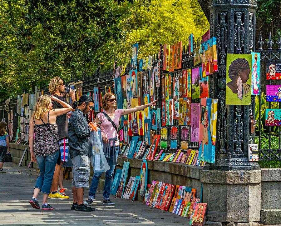 Jackson Square Art Photograph