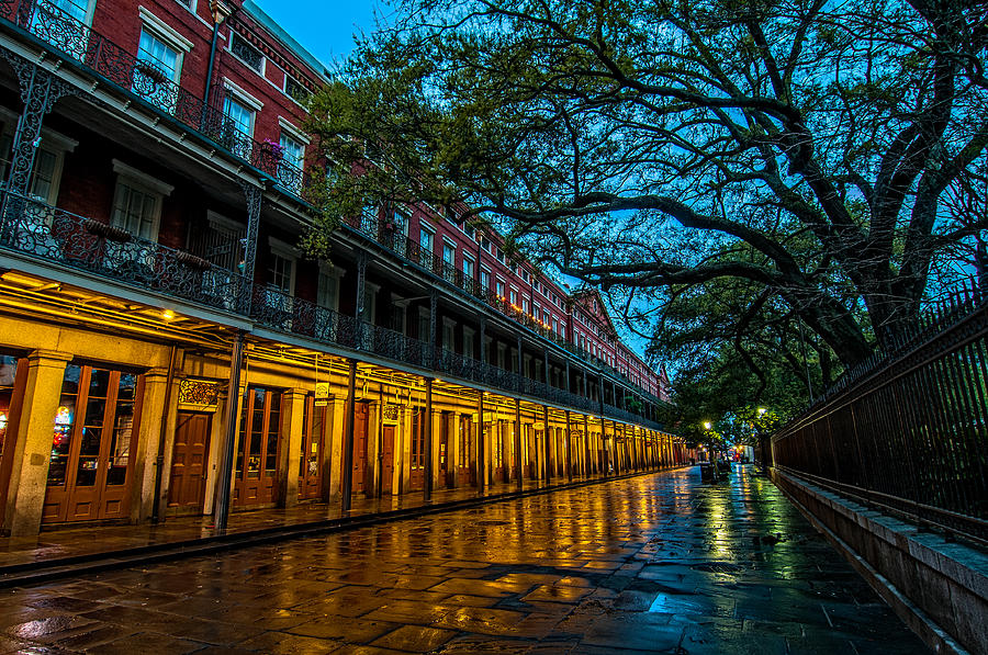 1800s Photograph - Jackson Square At Dawn by Andy Crawford