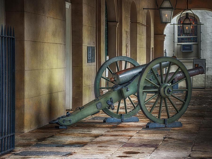 Jackson Square Photograph - Jackson Square Cannon by Brenda Bryant