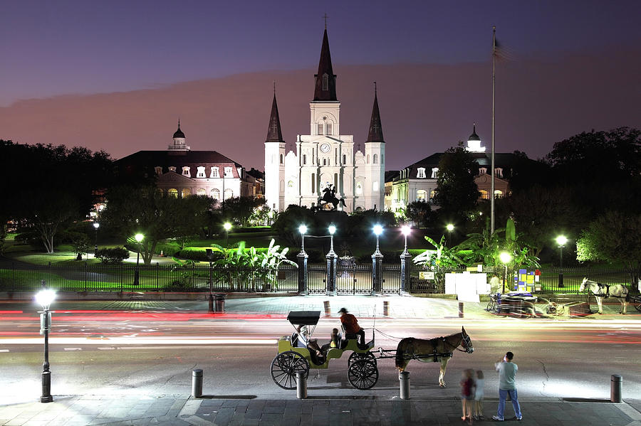 Jackson Square Photograph by Denistangneyjr
